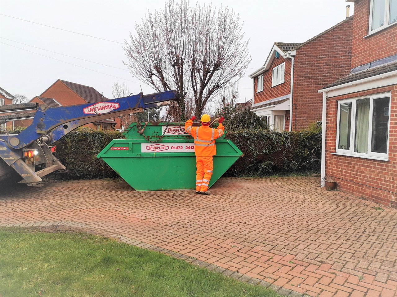 Image for: YMCA or a Skip Delivery... that is the question...